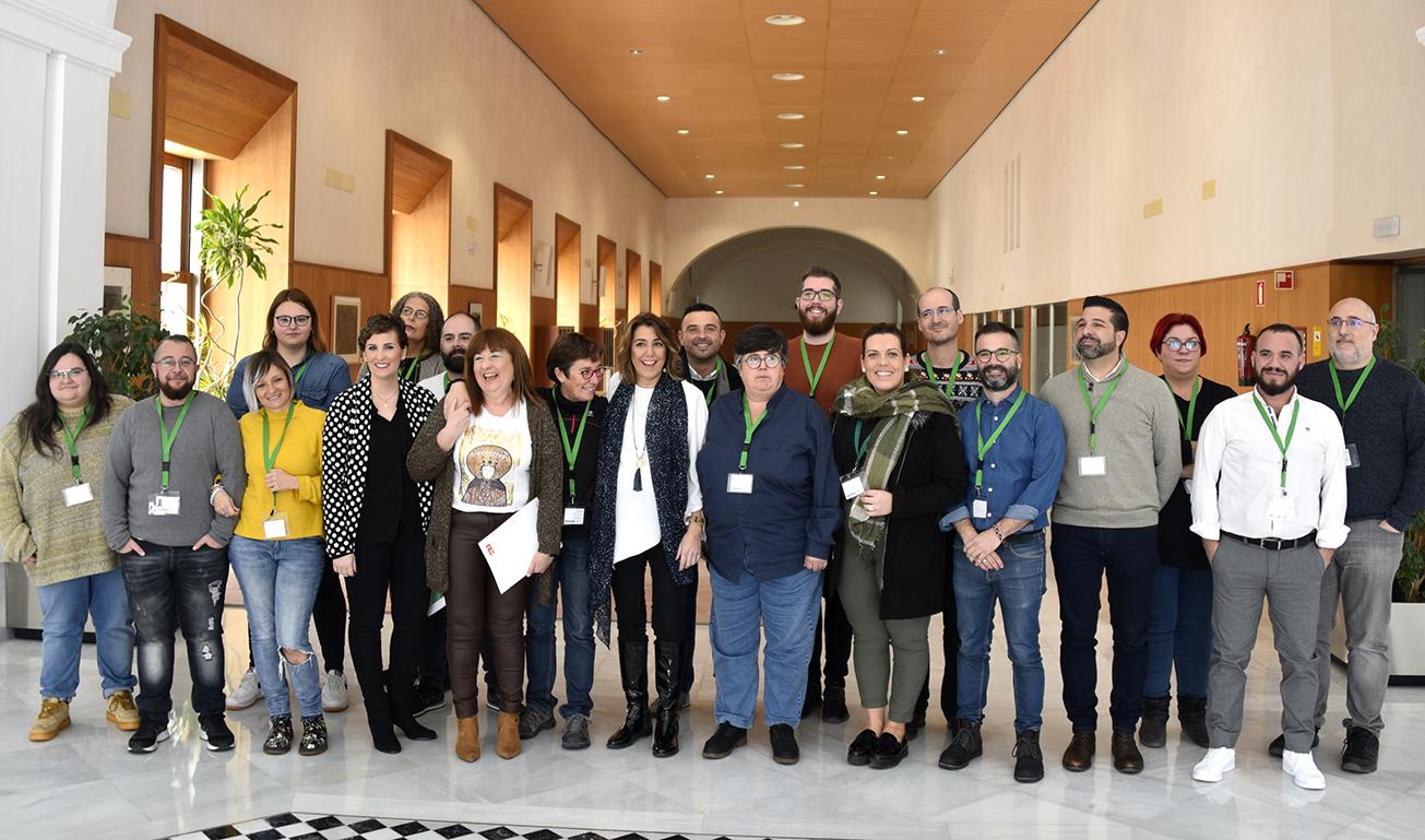 Crezco y las Asociaciones LGTBI de Andalucía se reúnen con el PSOE de Andalucía