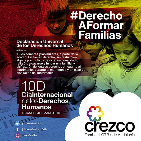 #DerechoAFormarFamilias