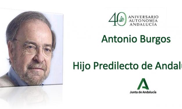 Carta al presidente de la Junta: Rechazamos el nombramiento de Hijo Predilecto de Andalucía a Antonio Burgos, por promover discursos de odio